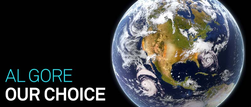 Our Choice, by Al Gore, a book with an app by Push Pop Press (Mike Matas)